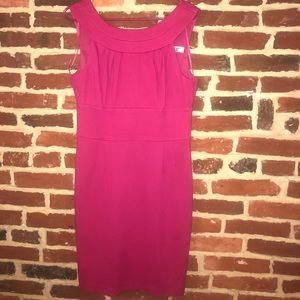 Trina Turk Pink Scoop-neck Dress